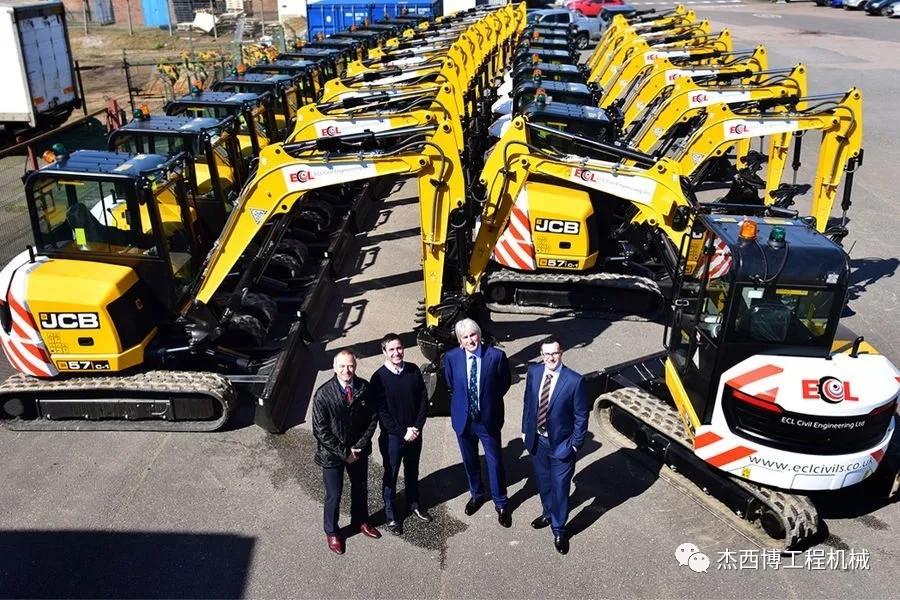 JCB获得单笔30台JCB挖掘机订单