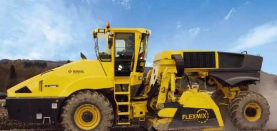 寶馬格FLEXMIX拌合系統,時刻滿足施工需求