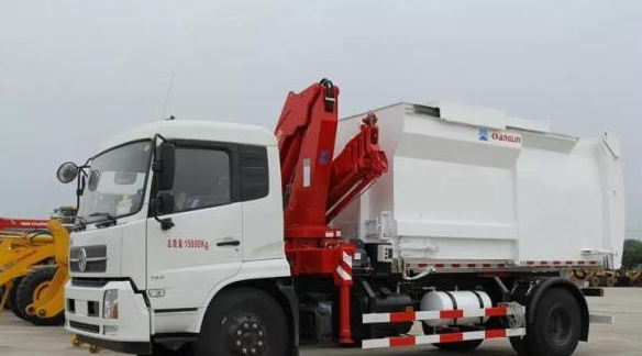 【國機重工產品】常林公司自裝卸式垃圾車