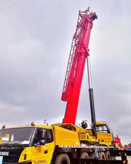 重新定义110-130吨,首台三一SAC1300T成功交付