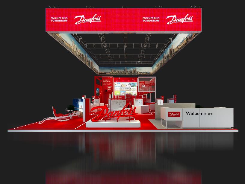 丹佛斯动力系统全新阵容盛大亮相2018上海宝马展