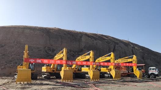 山重建机产品在内蒙古市场实现销售新突破