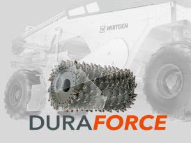 維特根 DURAFORCE 銑刨和拌合轉子 – 滿足各種施工需求
