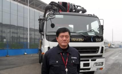 奮進三一人 雷東風:我參與了第一臺37米泵車的制造