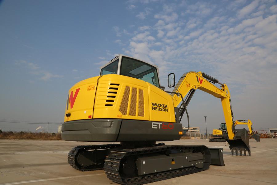 高大威猛的威克诺森ET60&ET66挖机