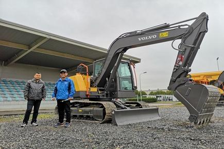 全新沃尔沃EC75D挖掘机详解