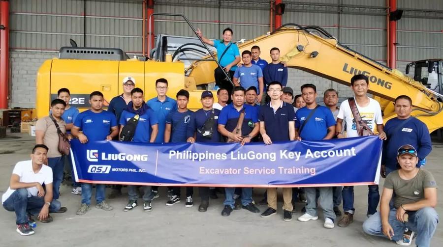 動態 | 合作共贏,共創未來——菲律賓柳工挖掘機銷售與服務培訓成功舉辦