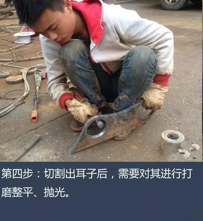 牛人纯手工打造挖机快换装置!(图4)