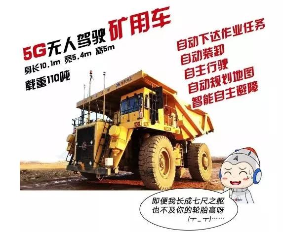 【動態】全國首臺5G網絡智能無人駕駛礦用車亮相