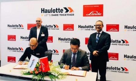 Haulotte 欧历胜与 Linde 林德达成战略合作 携手开拓中国高空作业应用市场