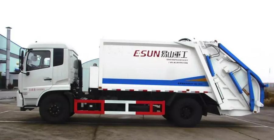 壓縮式垃圾車的發展趨勢,你知道幾個?