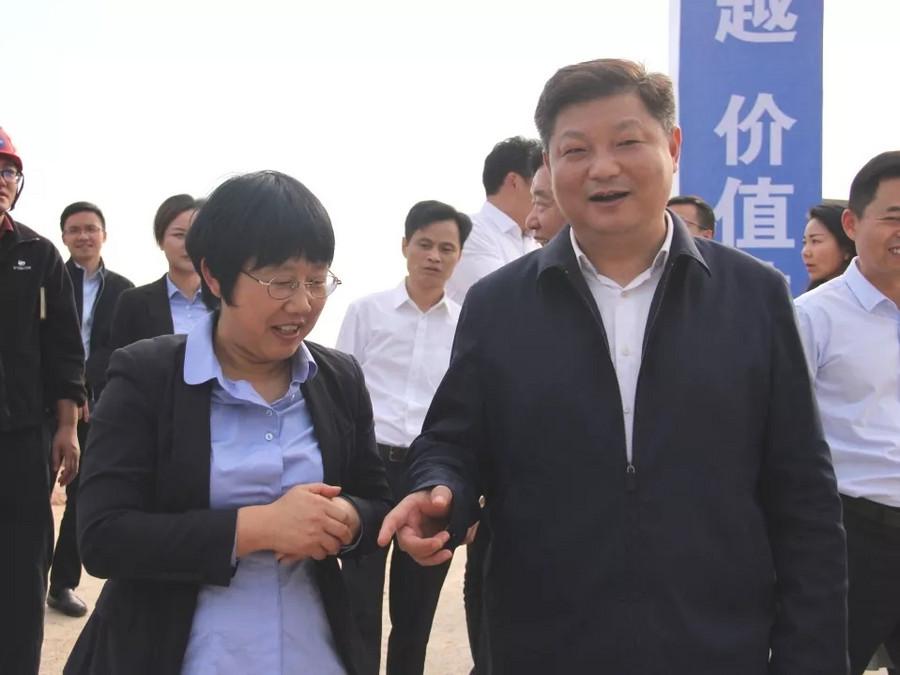 寧鄉市市長付旭明蒞臨星邦重工二期項目考察指導!