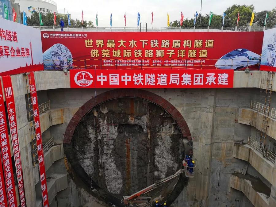 又一座海底隧道贯通!
