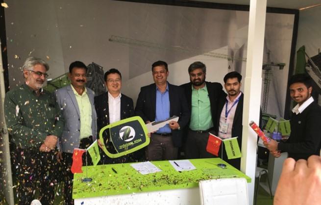 中联重科闪耀亮相印度EXCON展 本地化高端装备凸显市场竞争力