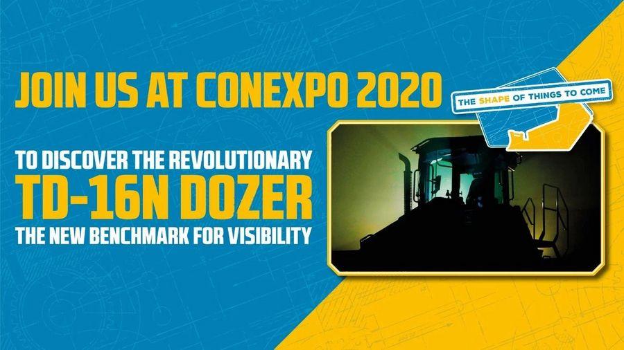 【新品】锐斯塔全新TD-16N 推土机将在CONEXPO 2020全球首发                     _亚搏体育APP网站
