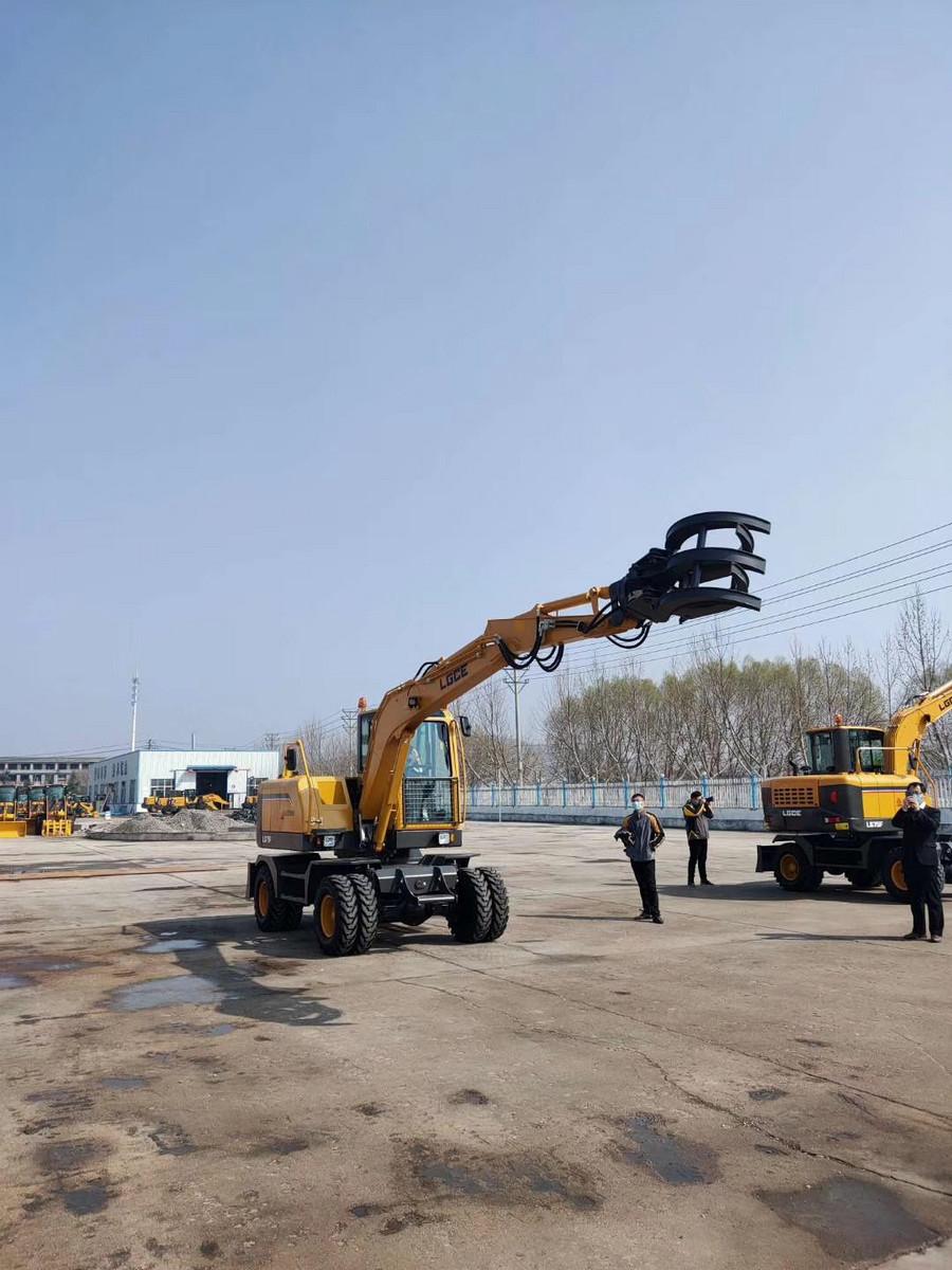【新品】临工LG75F轮式挖掘机将于3月10日发布!                       _亚搏体育APP网站