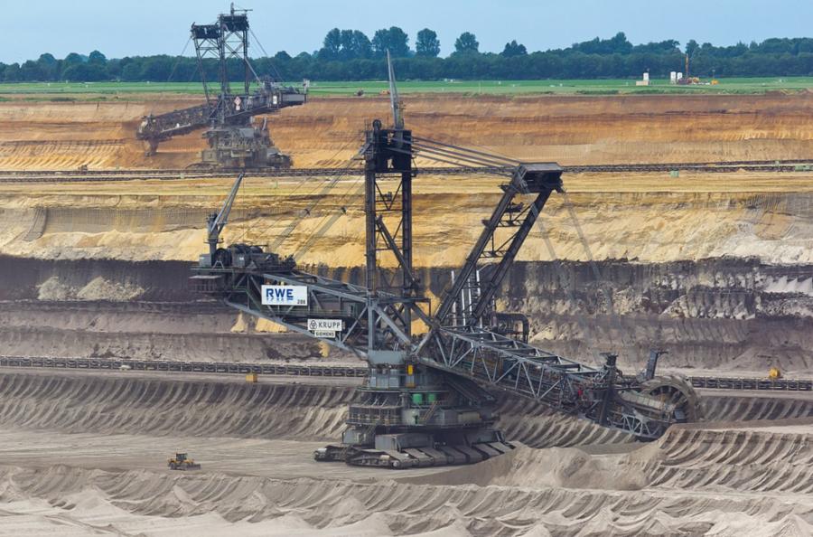 造价7个亿的挖掘机,到底有多大...