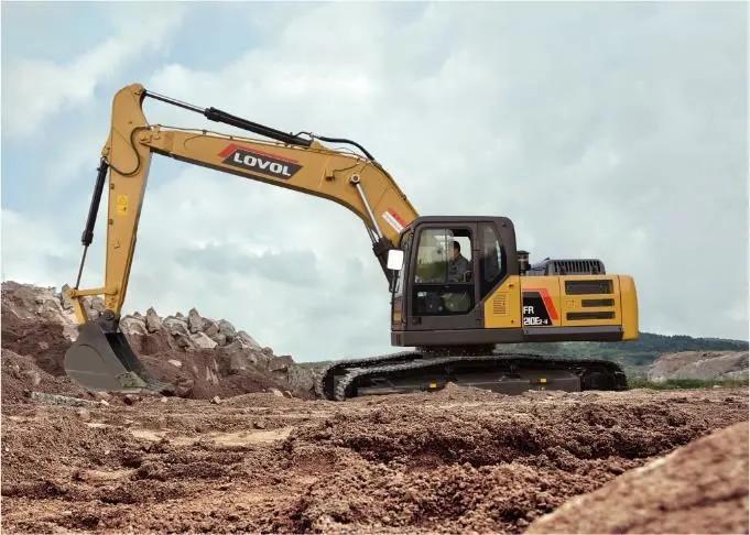 【新星產品】雷沃FR210E2-H挖掘機