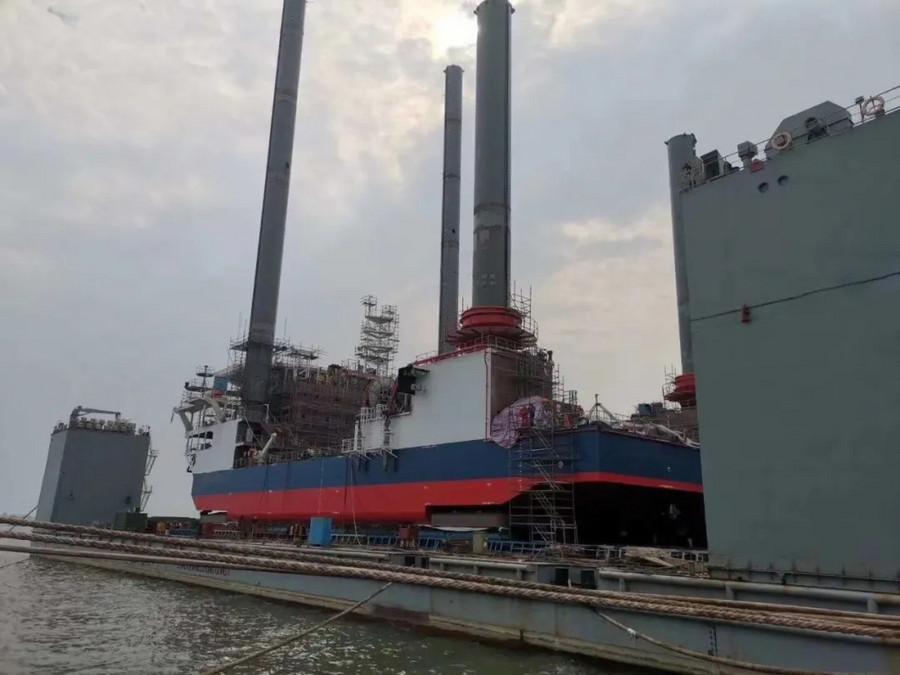 捷报!卡特彼勒与代理商助力海工服务平台顺利交机