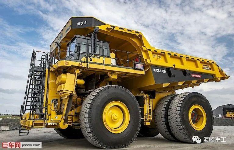 【新品】载重230吨!技术最先进的小松新型830E-5矿卡