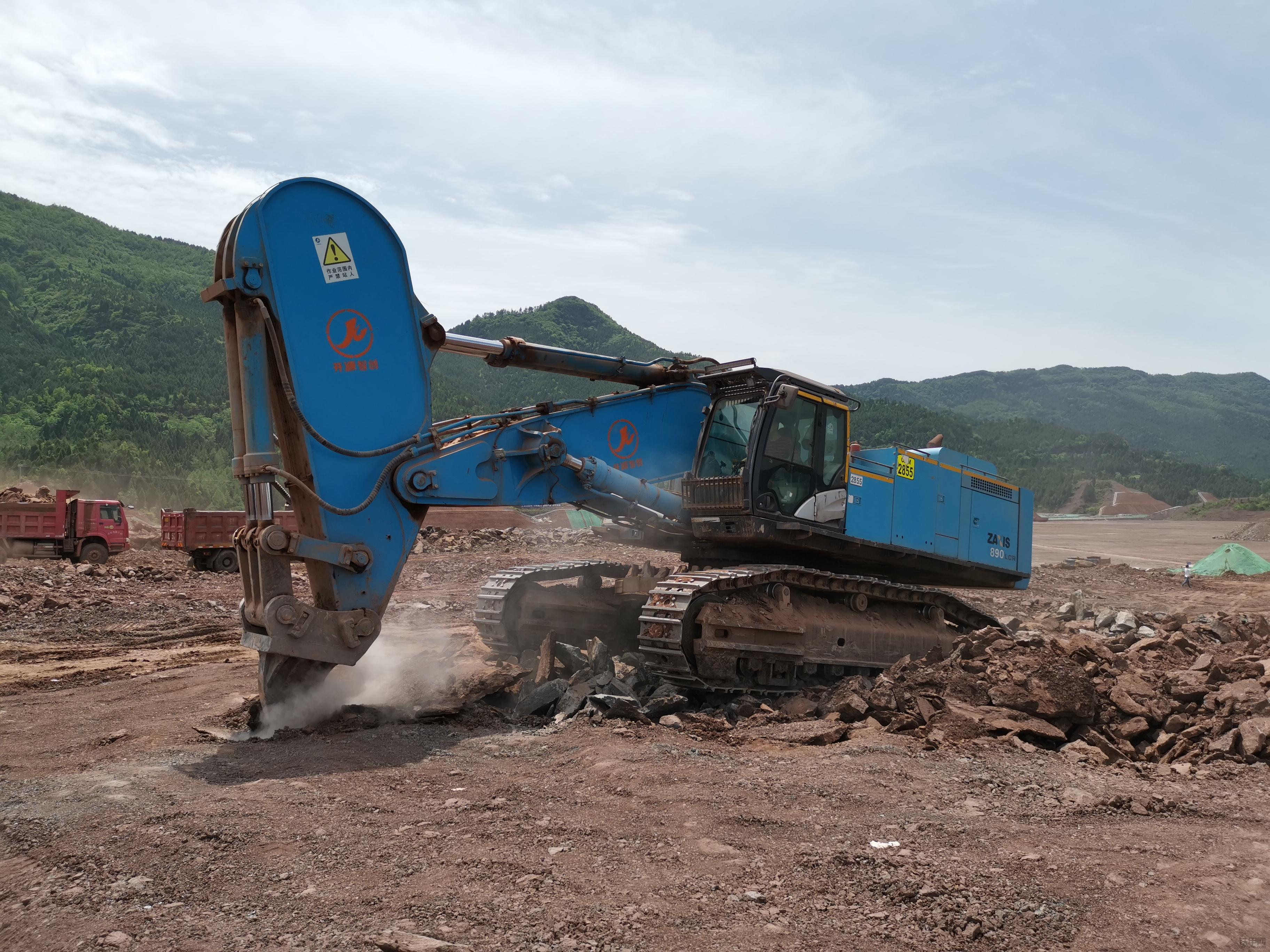 高大威猛的威克諾森ET60&ET66挖機