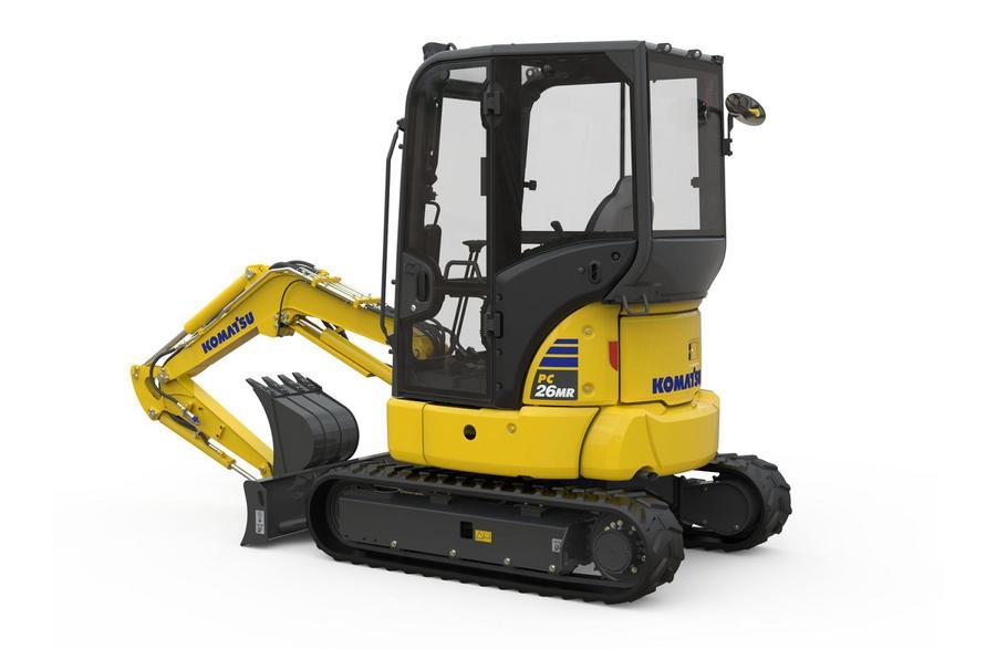 【新品】小松计划在欧洲市场推出MR-5系列小型挖掘机
