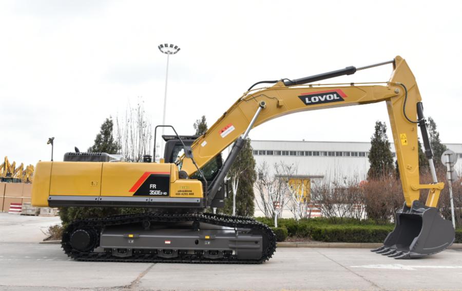 雷沃FR350E2-HD挖掘机|矿山作业效率高 客户用过都说好