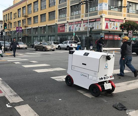 """起底卡特收购的机器人公司  原来是个""""外卖小哥"""""""