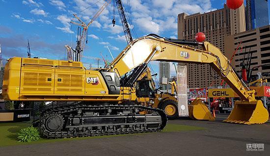 拉展回顾:卡特最大的挖掘机395有哪些亮点?