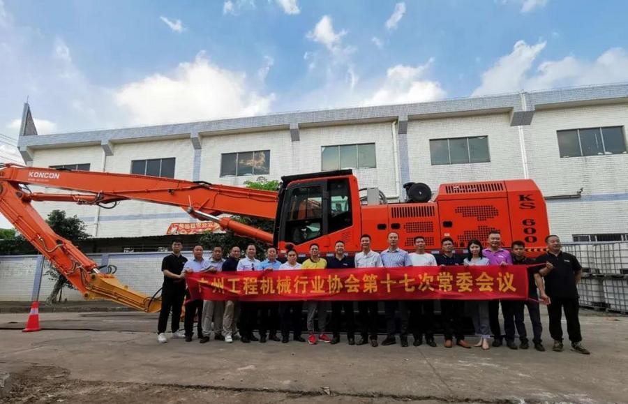 行業協會參觀KS600鋼板樁機,FPT C13ENT再吸睛