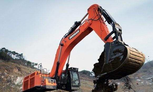 斗山工程机械5月挖掘机销量翻番,市场份额跃居外资之首