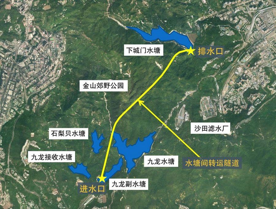 案例   安百拓小型遙控鉆機在香港水塘間狹窄隧道靈活鉆進