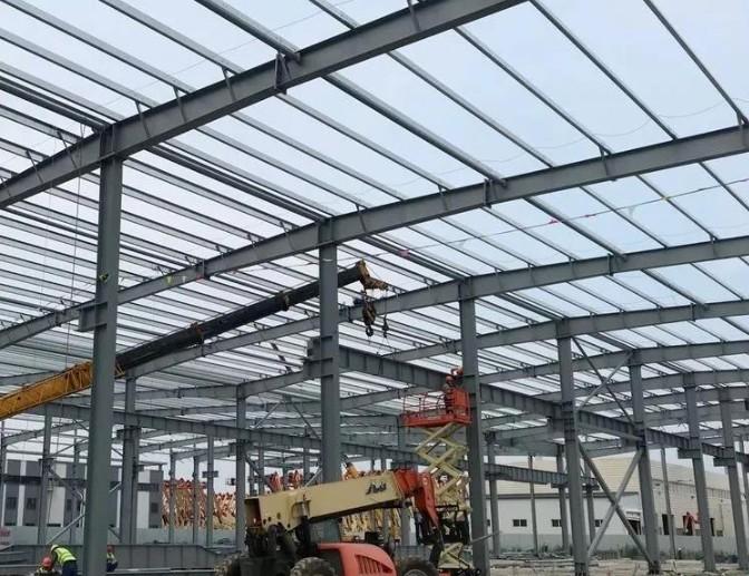 捷尔杰二期智能工厂正在快马加鞭建设