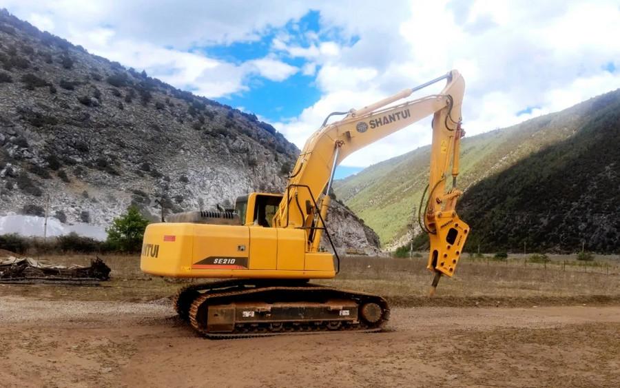 山推SE210W挖掘機——省油利器、更高效、更環保