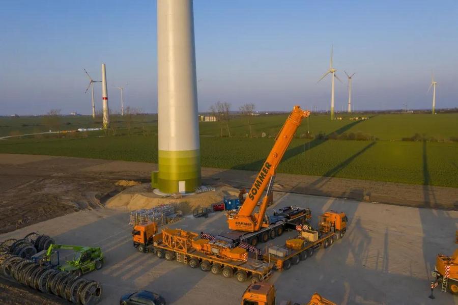 利勃海爾:直接從吊車工廠前往風電現場