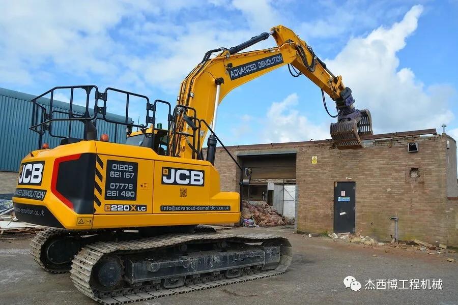 破拆專家——JCB 220X液壓挖掘機