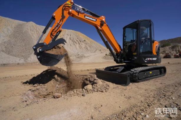 【新品】斗山北美公司推出DX42-5K和DX50-5K小型挖掘机