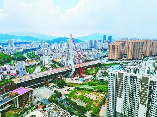 龍巖大橋完成二次轉體 開創世界橋梁轉體施工領域先河