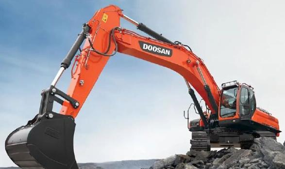 Doosan Infracore: 在沙特成功簽訂10臺50噸大型挖掘機訂單