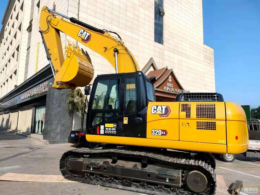 【圖說新車】卡特新經典Cat 320GX挖掘機全方位介紹