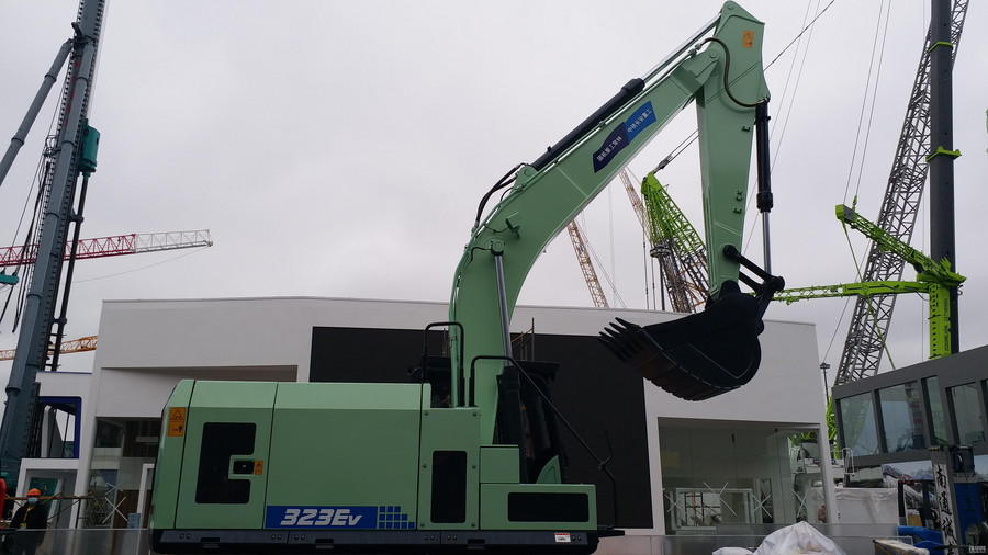 bauma CHINA 2020探館:國機常林,大噸級純電動挖機&鏟車重磅來襲!