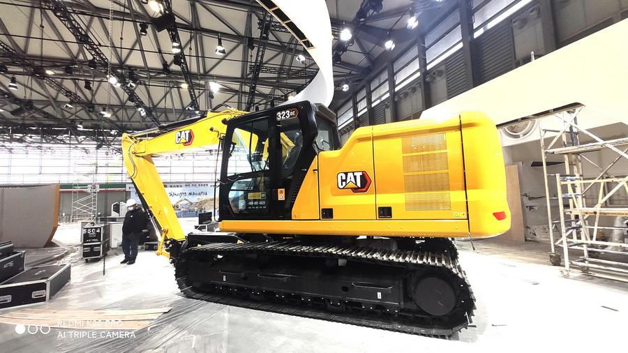 bauma CHINA 2020探館:GX挖掘機來了!卡特彼勒亮相寶馬展的產品有哪些?