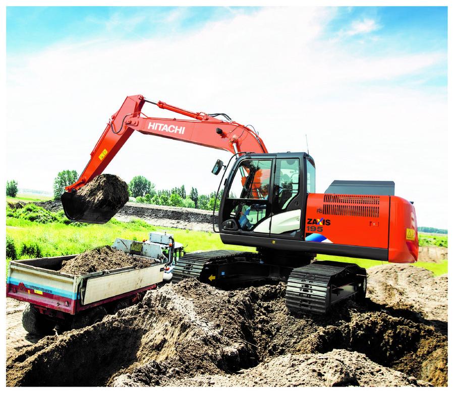 日立建機ZX195-5A液壓挖掘機面市 打造高性價比解決方案