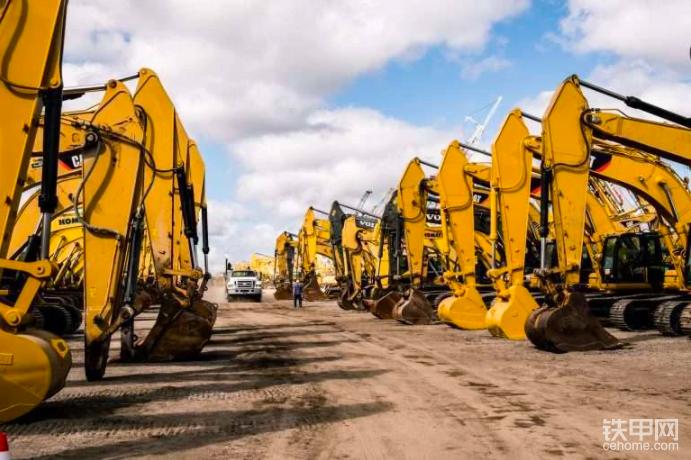 【外媒】利氏兄弟:二手挖掘机2020年Q3销量增长4%