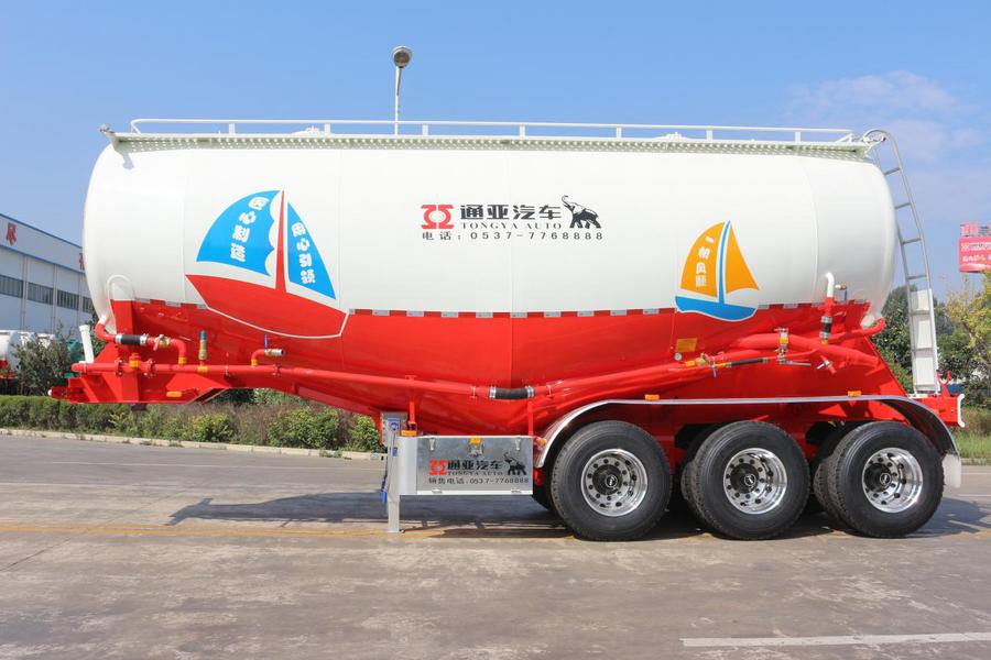 前9月粉罐車同比增長63.3%    通亞汽車奪得粉罐車市場第一