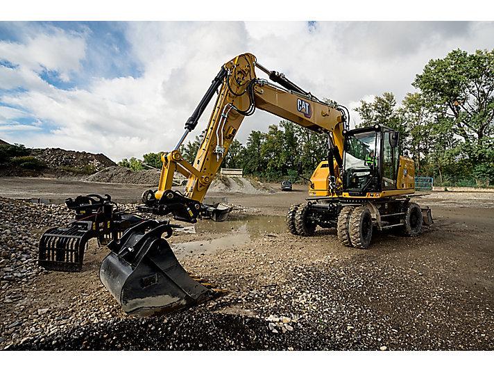 【新品】新一代Cat? M316輪式挖掘機全面介紹
