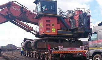 重型工程机械运输之巨型挖掘机篇