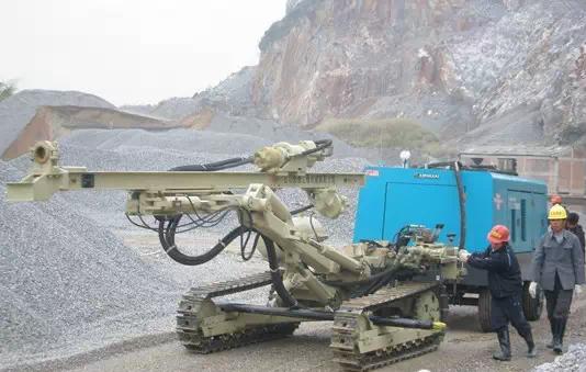 潜孔钻机要时刻注意的设备故障问题