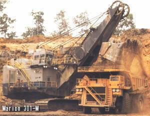 大型挖掘機歷史:世界最大電鏟正鏟挖掘機
