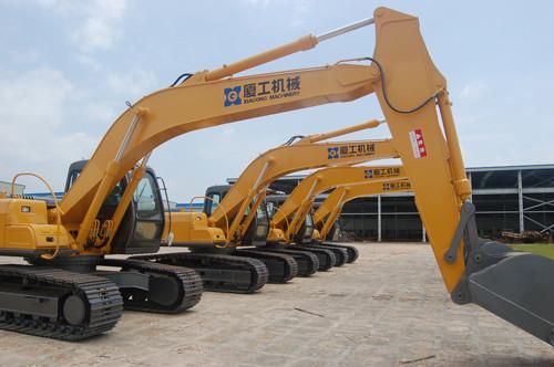 厦工股份 挖掘机租赁项目将进入印尼市场